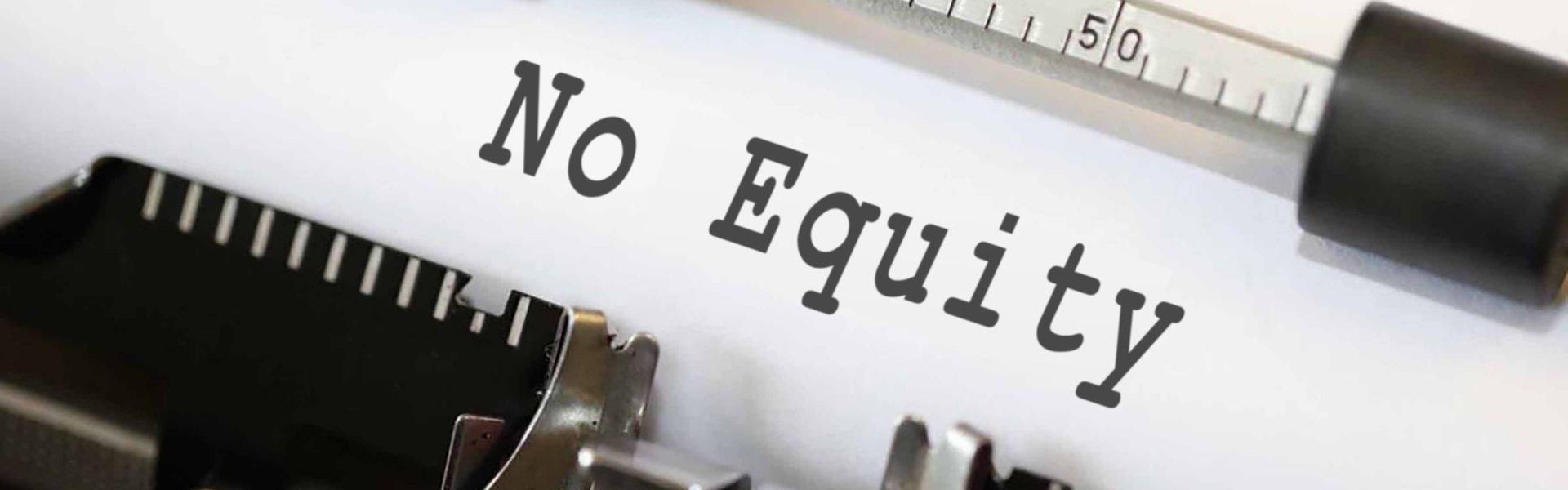 No Equity House Sale